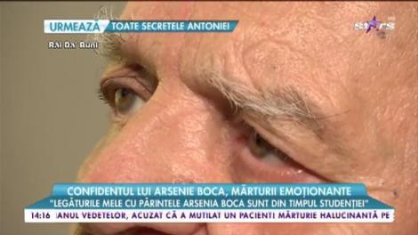 """Confidentul lui Arsenie Boca, mărturii emoționante: """"Am stat mult timp împreună sub același acoperiș"""""""