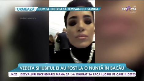 Cum a petrecut Adelina Pestrițu alături de iubitul ei. Vedeta și iubitul ei au fost la o nuntă în Bacău