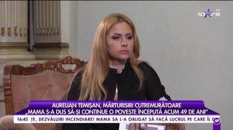 """Aurelian Temișan, mărturisiri cutremurătoare: """"Mama a murit de aceeași boală cu tata, de plămâni"""""""