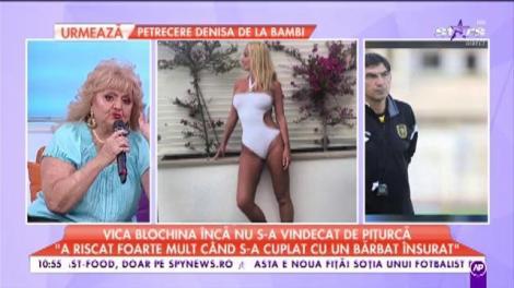 """Vica Blochina încă nu s-a vindecat de Pițurcă: """"N-aș mai face un copil fără un act"""""""