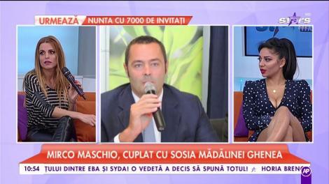Mirco Maschio, cuplat cu sosia Mădălinei Ghenea