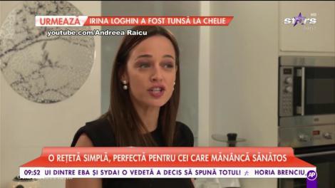 """Andreea Raicu ne pregătește """"Fursecuri de casă"""""""