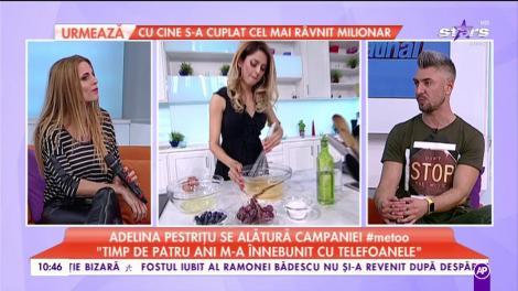 """Adelina Pestrițu se alătură campaniei #metoo. Un bărbat a """"terorizat-o"""""""