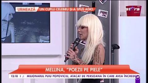 """Mellina vorbește despre relația cu sora ei și despre melodia """"Poezii pe piele"""""""