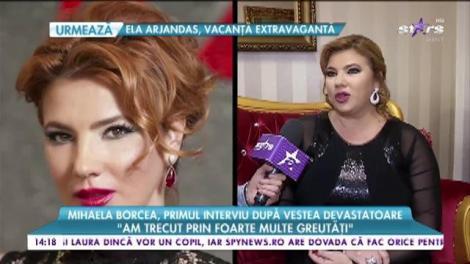 """Mihaela Borcea, interviu despre familie şi carieră: """"Luptă și vei învinge"""""""