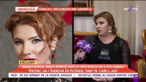Mihaela Borcea a oferit un interviu, după ce Cristi Borcea nu a fost eliberat