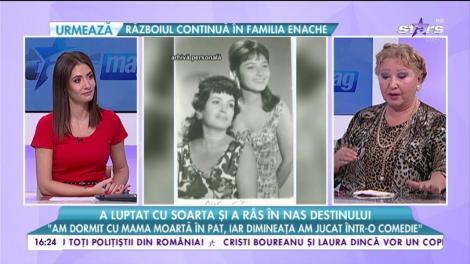 """Rodica Popescu Bitănescu, despre secretele actoriei: """"Am învățat foarte multe de la marea actriță Vasilica Tastaman"""""""
