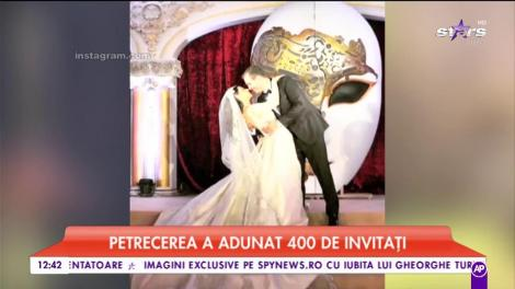 """Nunta la care au fost surprinse """"fantome"""". Mirii și-au acoperit fețele, în ziua nunții, cu niște măști"""