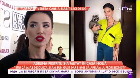 """Adelina Pestrițu s-a mutat în casă nouă: """"E frumoasă perioada în care trebuie să-mi caut lucruri prin geamantane"""""""