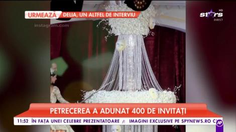 Nuntă de poveste. Petrecerea tinerilor îndrăgostiți a adunat 400 de invitați