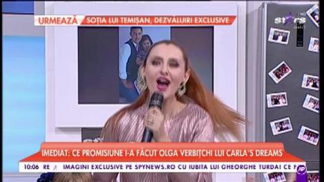 Alina Sorescu interpretează ultima sa melodie, în platoul de la Star Matinal