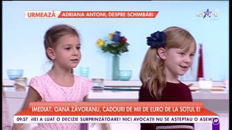 Alina Sorescu și copii săi de la Școala de dans, spectacol în platoul matinalilor