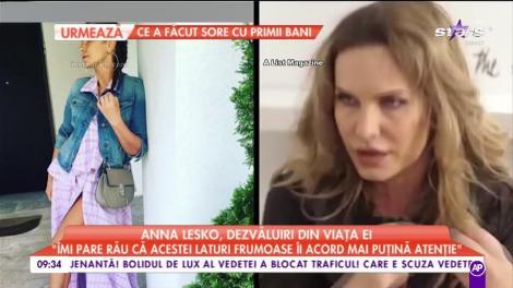 Anna Lesko, dezvăluiri din viața ei. Pasiunile ascunse ale vedetei