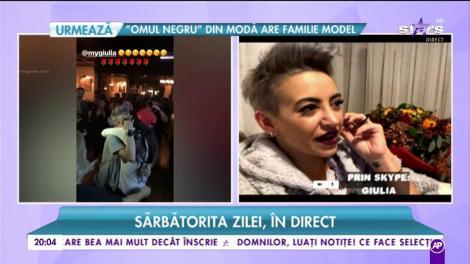 """Giulia, sărbătorita zilei, în direct! Antonia și Alex Velea au făcut un show incendiar la ziua vedetei: """"A fost una dintre cele mai frumoase petreceri"""""""