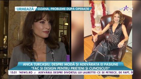 """Anca Țurcașiu, despre modă și adevărata ei pasiune: """"Sunt un om mult prea normal pentru eticheta pe care o am"""""""