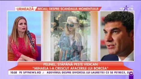 Valentina Pelinel, stăpână absolută şi peste afacerile Alinei Vidican