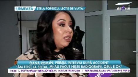 """Oana Roman, primul interviu după accident. Cum se simte vedeta după ce a ajuns pe mâna medicilor: """"Nu e simplu, mâna asta nu prea pot să o folosesc"""""""