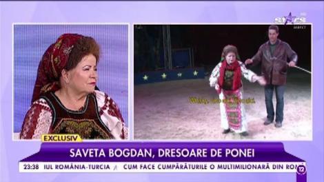 Saveta Bogdan, dresoare de ponei. Așa chiar nu te așteptai să o vezi pe îndrăgita cântăreață
