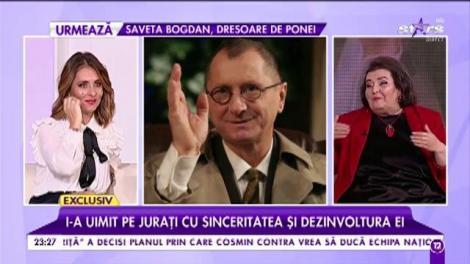 Doina Ghițescu își caută jumătatea printre burlacii României. I-a uimit pe jurați cu sinceritatea și dezinvoltura ei