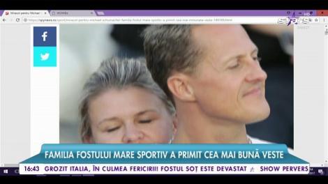 """Miracol pentru Michael Schumacher! Primele semne, după patru ani, ale fostului campion """"date"""" familiei!"""