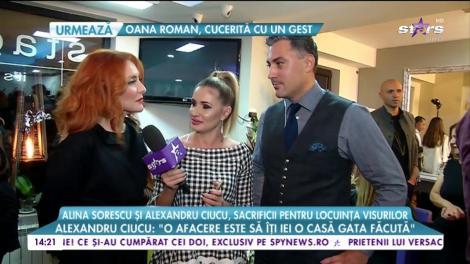 Alina Sorescu și Alexandru Ciucu, sacrificii pentru locuința visurilor