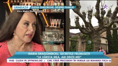 """Maria Dragomiroiu, secretele frumuseții: """"Fetele care sunt frumoase. chiar că se urâțesc"""""""