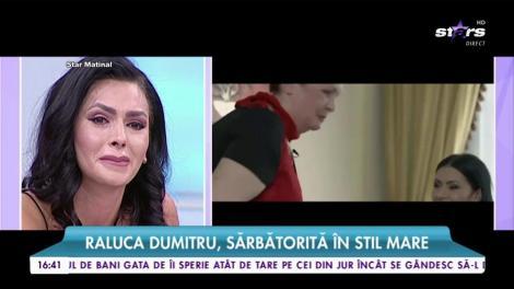Raluca Dumitru sărbătorită în stil mare. Surpriză de proporții pentru o frumoasă prezentatoare