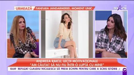"""Andreea Raicu spune tot ce are pe suflet: """"Trăim într-o lume în care oamenii vor să pară ceea ce nu sunt"""""""