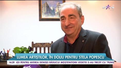 Lumea artiştilor, în doliu pentru Stela Popescu