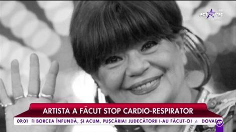 Cristina Stamate a încetat din viaţa la vârsta de 71 de ani. Artista a făcut un stop cardio-respirator