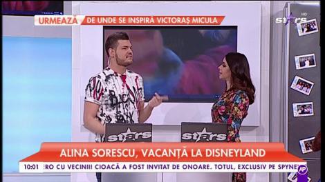 Alina Sorescu, vacanță la Disneyland. Vedeta s-a bucurat de atracțiile celebrului parc de distracții