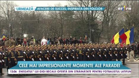La mulți ani, România. Paradă impresionantă de 1 Decembrie