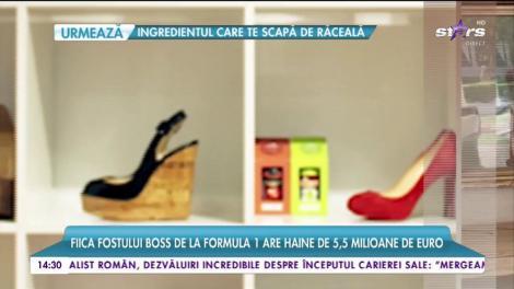 Tamara Ecclestone are o garderobă impresionantă. Fiica fostului șef al Formula 1 trăiește în lux