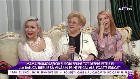 """Mama fetelor """"Bambi"""" vorbește despre cele două artiste: Raluca: """"Eu simt cumva că am aparținut secolului XIX"""""""