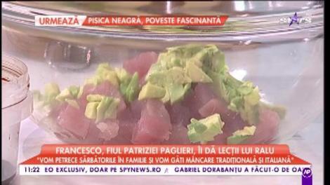 Francesco, fiul Patriziei Paglieri, ne învață trucuri culinare de la mama sa