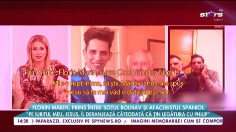 """Florin Marin prins între soțul bolnav și afaceristul spaniol: """"Philip mi-a spus că vrea să mă mai vadă o data până mor"""""""