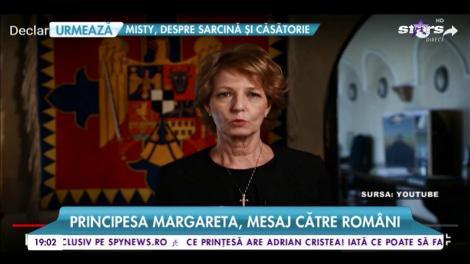 """Principesa Margareta, mesaj către români: """"Începe un nou timp entru casa Regală a României"""""""