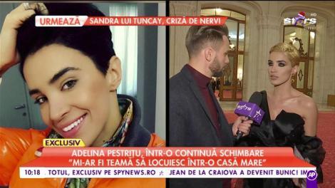 """Adelina Pestrițu, într-o continuă schimbare: """"Voi face sărbătorile într-o nouă casă"""""""