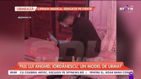 Fiul lui Anghel Iordănescu, un model de urmat