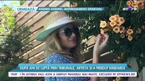 Valentina Pelinel, aniversare alături de Milan