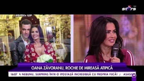 """Oana Zăvoranu, rochie de mireasă atipică: """"Dacă ma duceam în rochie de miseasă, nu putean să trec"""""""