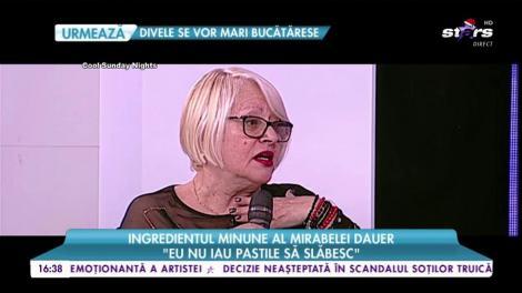 Mirabela Dauer a dezvăluit secretul siluetei ei