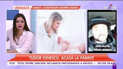 Tudor Ionescu, acasă la părinți. Cele mai frumoase amintiri din perioada sărbătorilor