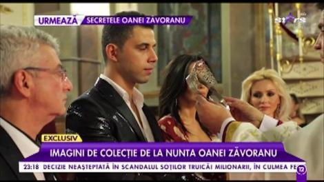 Imagini de colecție de la nunta Oanei Zăvoranu