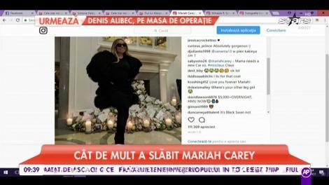 Cât de mult a slăbit Mariah Carey. Vedeta americană a dat jos 32 de kilograme