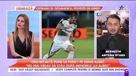 """Gigi Becali îl pune la punct pe Denis Alibec: """"Nu mai vreau să stau după mendrele lui Alibec"""""""