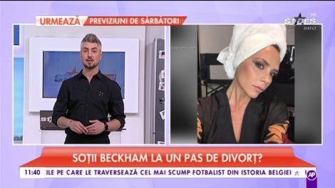 Soții Beckham la un pas de divorț? Cei doi mai apar împreună doar la evenimentele