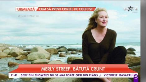 Maryl Streep bătută crunt. Vedeta a vorbit despre momente cumplite din trecutul său