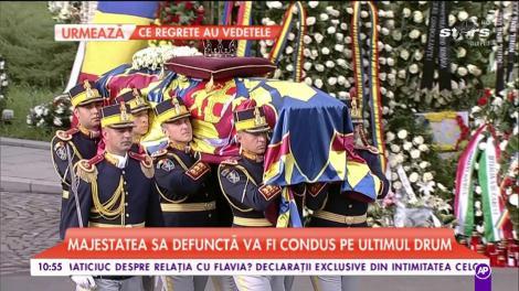 Zi tristă pentru România și pentru poporul Român. Regele Mihai, condus pe ultimul drum