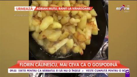 Florin Călinescu, pasiune pentru arta culinară